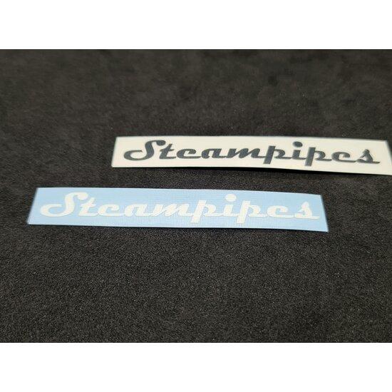 Steampipes Schriftzug-Aufkleber Klein