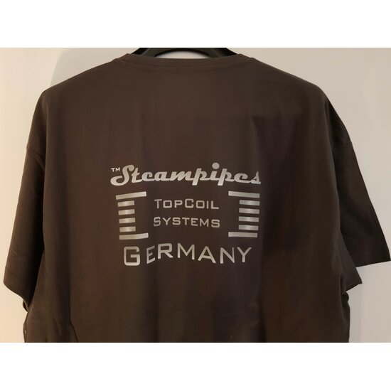 Steampipes T-Shirt Grau
