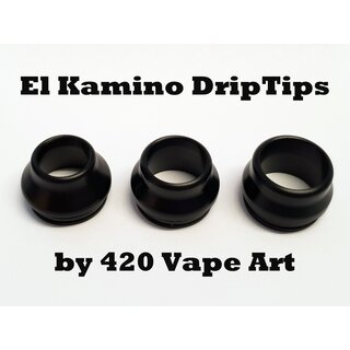 Wide Bore DripTip El Kamino